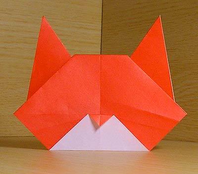簡単 折り紙 折り紙 猫 簡単 : nekohon.jp